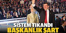 Türkiyenin vizyonu başkanlık sistemidir