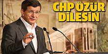 CHP özür dilesin