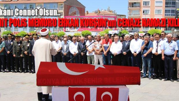 Şehit Polis Erkan Kurşun Cenaze Töreni