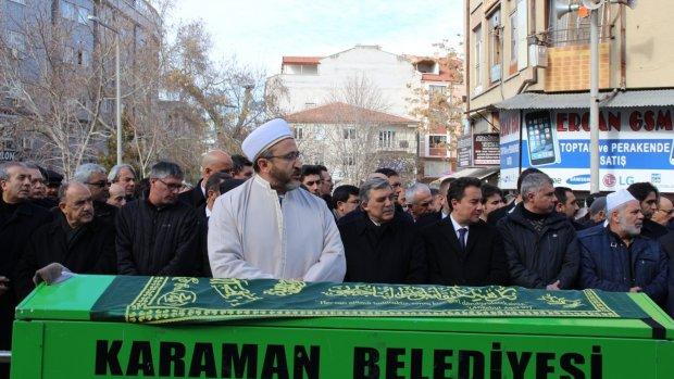 Duran Dinçer Cenaze Namazı