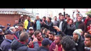 Polisten Basına, Taraftara, Yöneticiye Meydan Dayağı